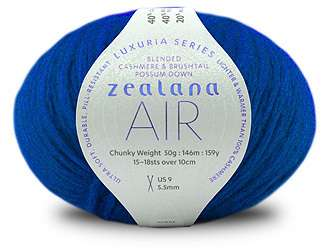 Zealana Air Chunky yarn