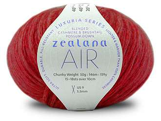 Luxury Zealana Air Chunky yarn