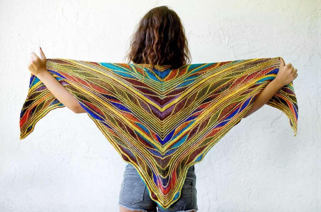 Papillon Shawl Knitting Pattern
