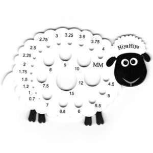Hiyahiya Sheep Needle Gauge
