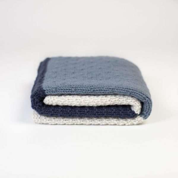 Textured Knit Blanket