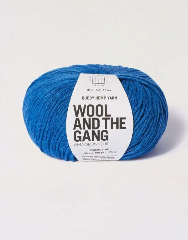 Wool and the Gang | Buddy Hemp Riviera Blue Wool