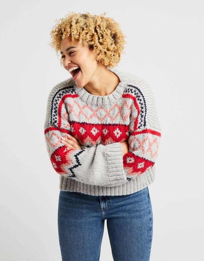 Taylor Sweater knitting kit