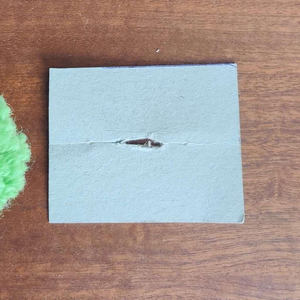 Cardboard rectangle