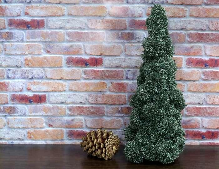 Realistic Pompom Christmas Tree Christmas Decoration