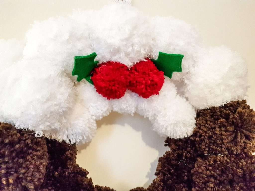 Pudding Wreath Christmas Decoration