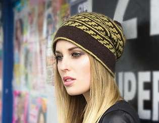 Zealana Cozi slipped hat pattern