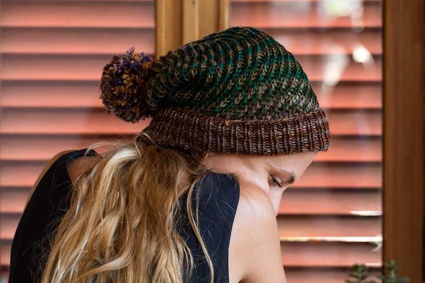 Flux Hat knitting pattern