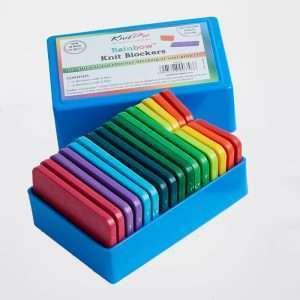 Knitpro | rainbow Knit Blockers in box