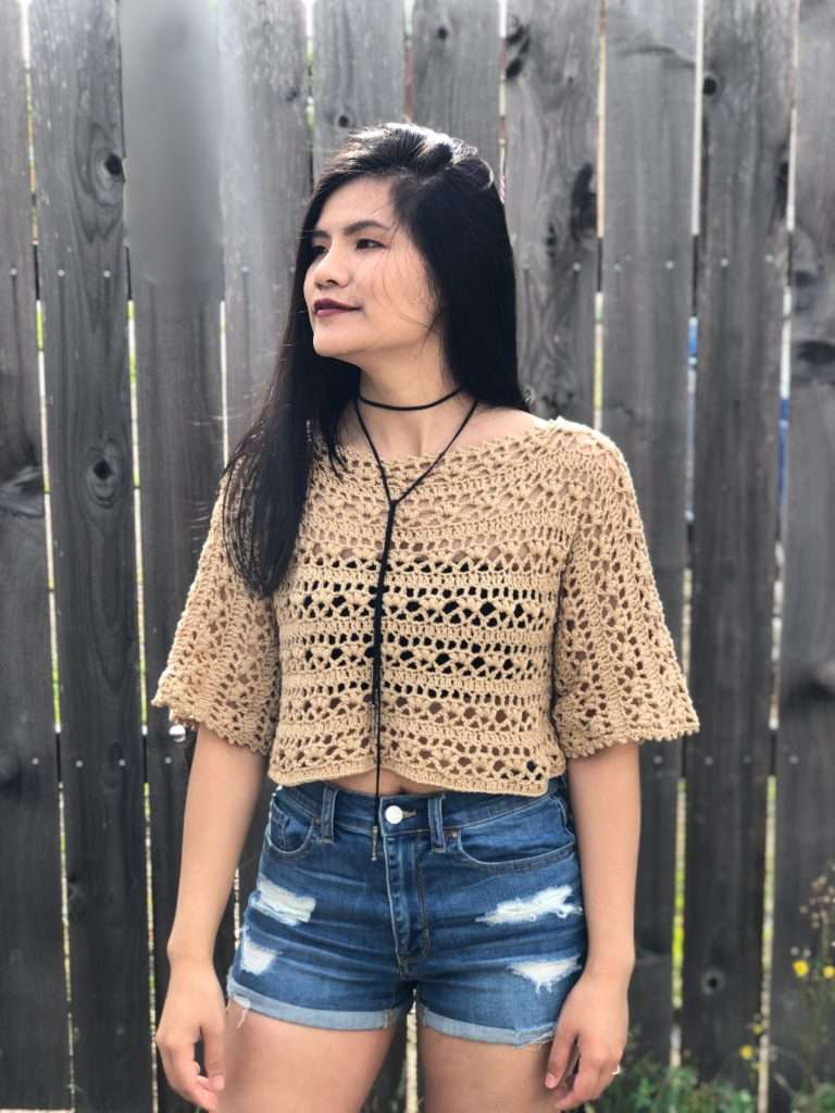 lacy summer top by wan