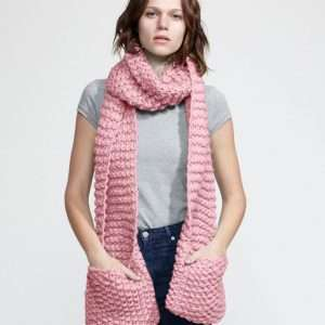Wool and the Gang | Jolly Pocket Scarf